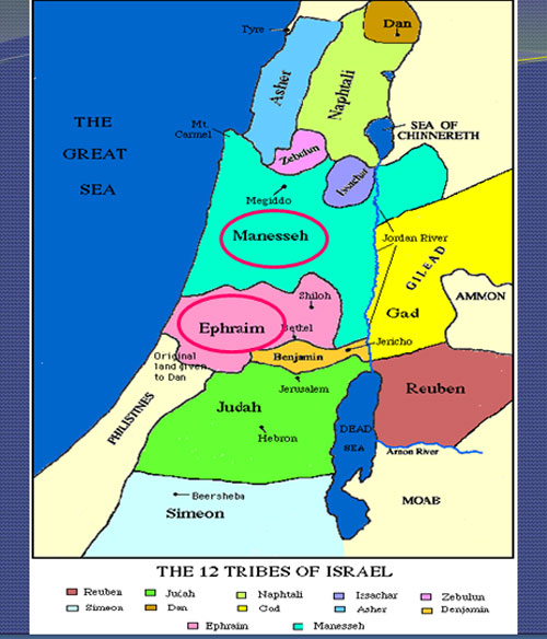 The 12 Tribes of Israel