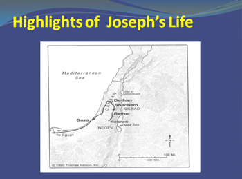 The brothers conspire to rid themselves of Joseph at Dothan